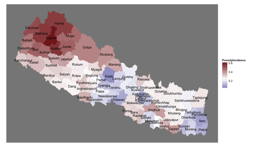 Mapping Poverty in Nepal